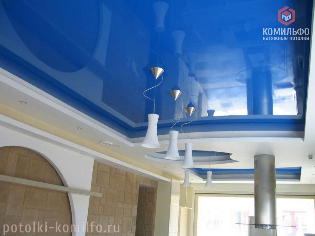 Яркие цвета для натяжного потолка